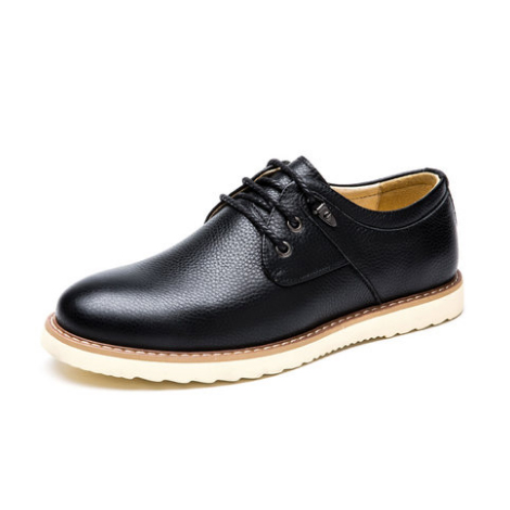 新款男士英伦风皮鞋