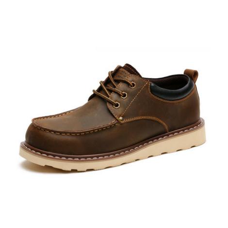 新款男士英伦风工装鞋