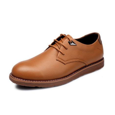 新款男士商务皮鞋